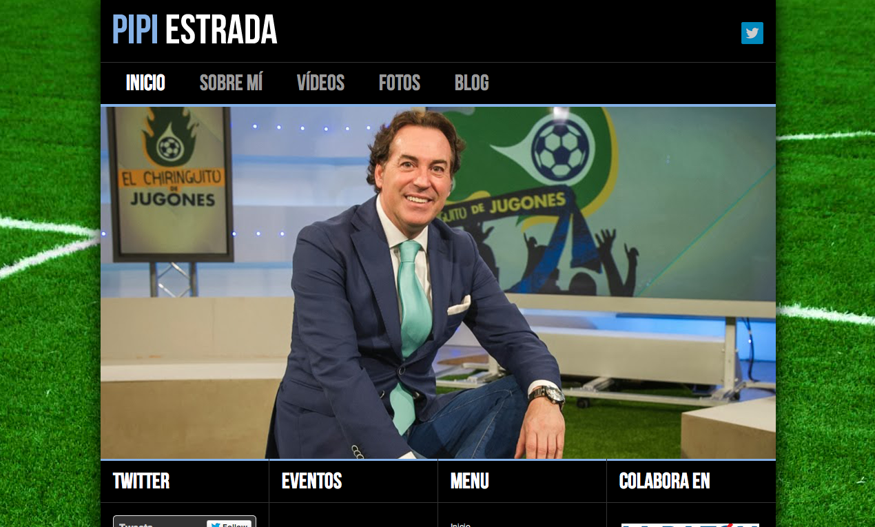 Web oficial Pipi Estrada