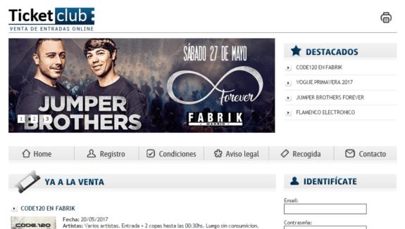 www.Ticketclub.es